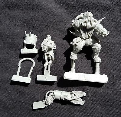 Limited Edition Forgeworld Ogryn With Death Korps Of Krieg Victim