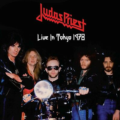 JUDAS PRIEST Live In Tokyo 1978 LP Stained Class tour GREAT AUDIO UK mint vinyl