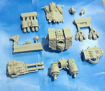 Space Wolves Vernerable Dreadnought With Weapons