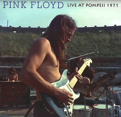 PINK FLOYD Live At Pompeii 1971 2LP NOT Harvest great audio DOUBLE green VINYL