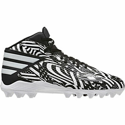 promo code f299c b6ad6 Adidas Freak 3 MD Mens Football Cleats - Mens 10.5 - White Black - New