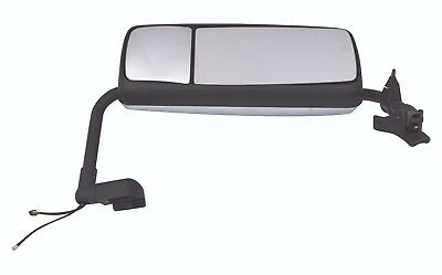 Volvo Vnl Door Mirror Assembly With Arm Chrome Left / Driver Side