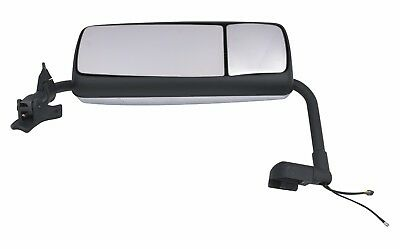 Volvo Vnl Door Mirror Assembly With Arm Chrome Right / Passenger Side