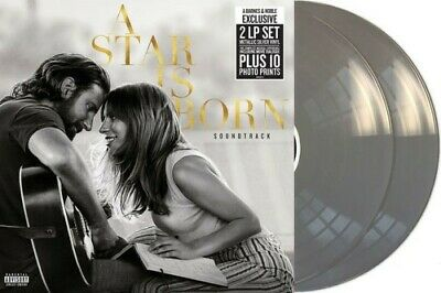 A STAR IS born LPx2 Lady Gaga with Bradley cooper Metallic silver Colored vinyl