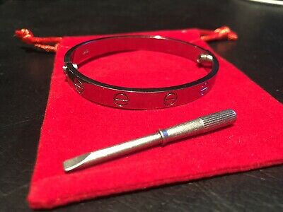 Unisex Love Bracelet - Stainless Steel - Excellent Quality Size 17