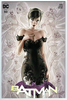 Batman #50 Krs A Exclusive Nm Warren Louw Catwoman Dc Comics Wedding