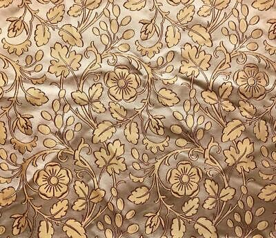 BEAUTIFUL 19th CENTURY FRENCH FINE SILK BROCADE, PROJECTS, REF 147.