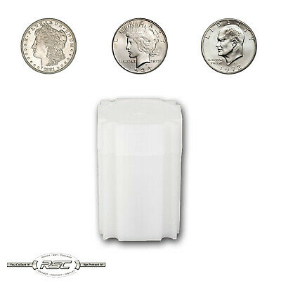 1 - CoinSafe Storage Tube for Large Silver Dollars - Holds 20 Coins