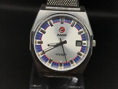 Vintage Rado Voyager Automatic Gents Watch ,Swiss Made