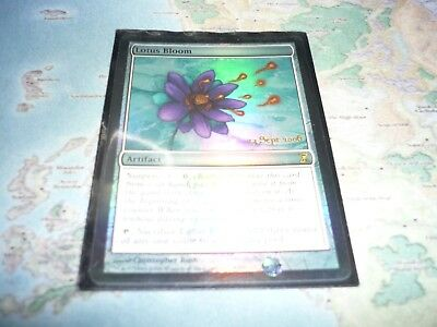 Time SPiral Pre-release Magic the Gathering MTG 1x FOIL LOTUS BLOOM