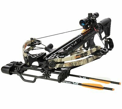 New 2019 Bear X Saga 370 Apocalypse Crossbow Package Model # AC93A2A7175