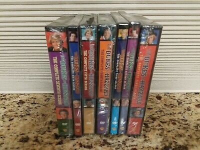 The Dukes of Hazzard Seasons 1-7 DVD Complete Collection Set 1 2 3 4 5 6 7