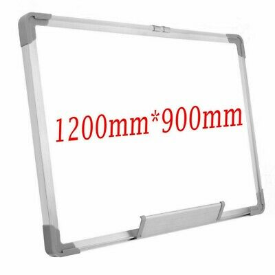 Magnetic Whiteboard Dry Wipe Notice White Board Office School Home 1200 X900 MM