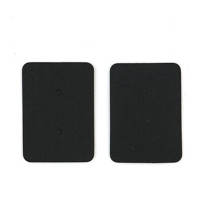 100Pcs Black Paper Earrings Display Hanging Cards for Jewelry Accessory Organize
