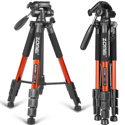 ZOMEI Orange Q111 Travel Aluminium Tripod Heavy Duty PanHead For DSLR SLR Camera