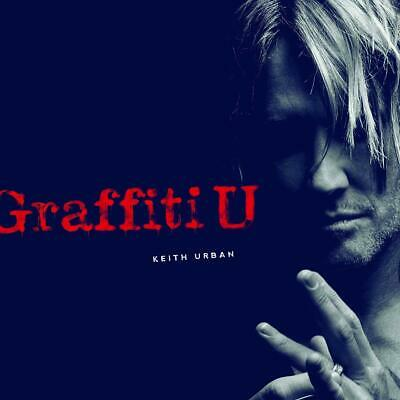 KEITH URBAN - GRAFFITI U  NEW CD UK Edition with 3 Bonus Tracks (8th March 2019)