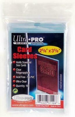 Ultra Pro Soft Sleeves Trading Card Standard Deck Protectors Yugioh Pokemon MTG