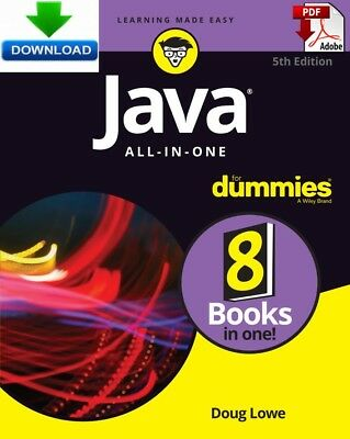 Java All in One For Dummies - read on PC, PHONE or TABLET -  Fast PDF DOWNLOAD