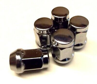 a M12 x 1.5 Chrome Plated Replacement Closed End Wheel Nut x 1 NS204BX-WNAS1