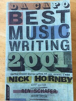 Best Music Writing 2001.By Hornby Nick.