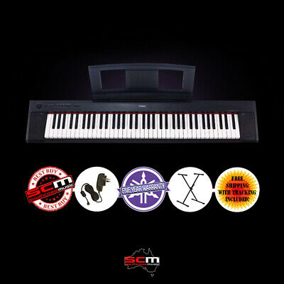 YAMAHA NP32 76 KEY PORTABLE DIGITAL PIANO with ADAPTOR & STAND & REPLACES NP31