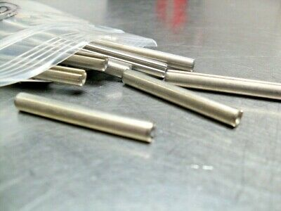 """qty 65 - Roll Pin - Slotted Spring Pin, Steel  1-1/2"""" long x 3/16"""" od x 1/8"""" id"""