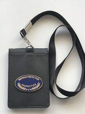 Revenue Protection Inspector Warrant Card Wallet Holder and Lanyard