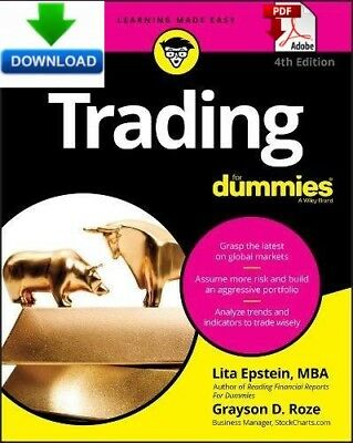 Trading For Dummies - read on PC, PHONE or TABLET -  Fast PDF and ePub DOWNLOAD