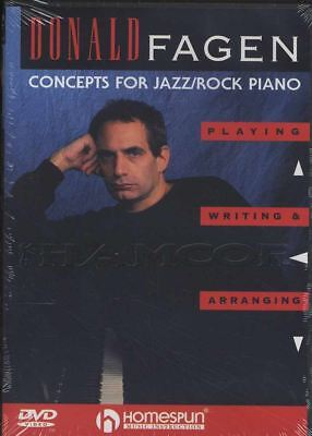 Concepts for Jazz Rock Piano Donald Fagen Tuition DVD Learn How To Play