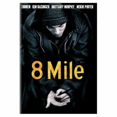 8 Mile Full Screen Edition On DVD Very Good E72