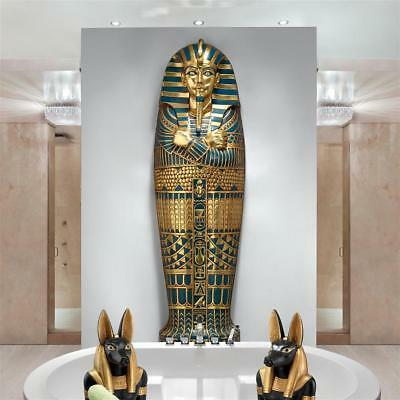 Egyptian Tomb of Pharaoh Royal Treasure 6' Artifact Replica Wall Mount Sculpture