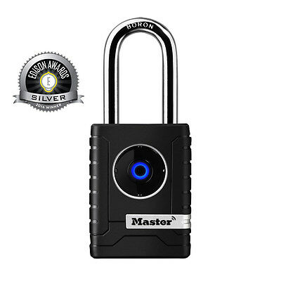 Master 4401DLH Bluetooth Smart Padlock Keyless Combo Outdoor Lock Secure Phone