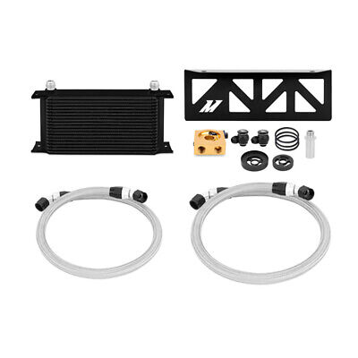 Mishimoto Thermostatic Oil Cooler Kit Direct Fit For Subaru Brz/Toyota Gt86 Blk