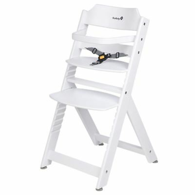 Safety 1St Timba White Highchair Baby/Toddler Feeding Removable Tray 6M+