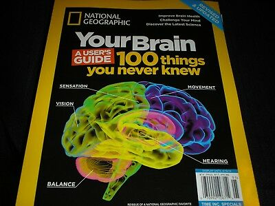 National Geographic  Special :  YOUR BRAIN  -a user's guide  revised  2019  L-13