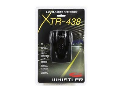 Whistler XTR-438 High Performance Laser Radar Detector With 360 Degree Coverage