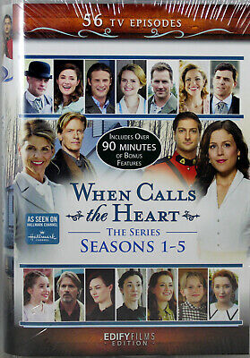 When Calls The Heart The Series Seasons 1-5 12 Brand NEW DVDs 56 TV Episodes