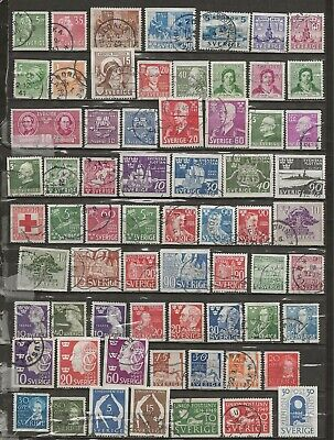 Sweden, 66 different from the 1940s mainly used