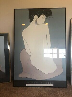 patrick nagel Classic Version Good Condition Signed