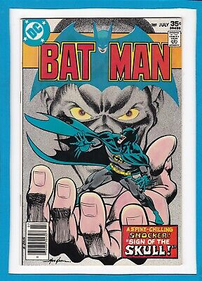 "Batman #289_July 1977_Vf/nm_""sign Of The Skull""_Bronze Age Dc_Mike Grell!"