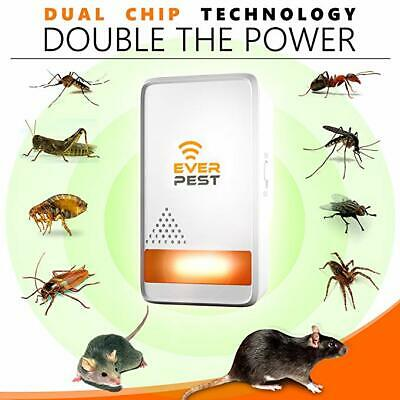 Mosquito Ultrasonic Pest Repellent 2019 - Home Control Professional Plug in Elec