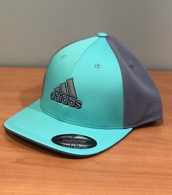 a8b400fd7a0 Adidas ClimaCool Tour FlexFit Fitted Hat Cap CF3188 Hi-Res Green L XL (