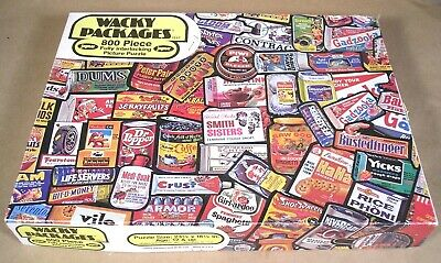 1973 Wacky Packages JAYMAR JIGSAW PUZZLE #1537 w/box incomplete 799/800 pieces