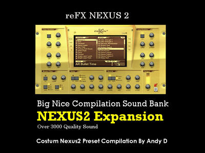 Big Nice Compilation Sound Bank Pack For reFX Nexus 2 VSTi