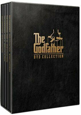 The Godfather Collection Box Set (Part I / Part II / Part III) [DVD] USED!