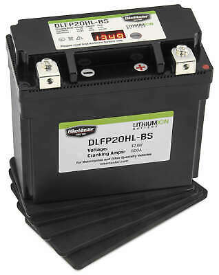 Lightweight Lithium Battery BikeMaster DLFP20HL-BS Replaces YTX20HL-BS