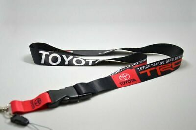 For TOYOTA TRD Lanyard Cell Phone Keychain Quick Release Key Chain 2 Sided Print