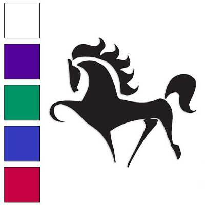 Large Size #lg887 Horse Jump Decal Sticker Choose Color