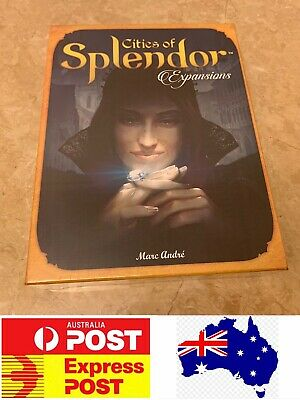 Cities Of Splendor Expansions Board Game, AU Stock
