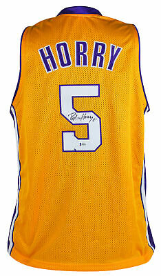 7f1e6f7d7 LAKERS SHAQUILLE O NEAL Authentic Signed Yellow Mesh Jersey BAS ...